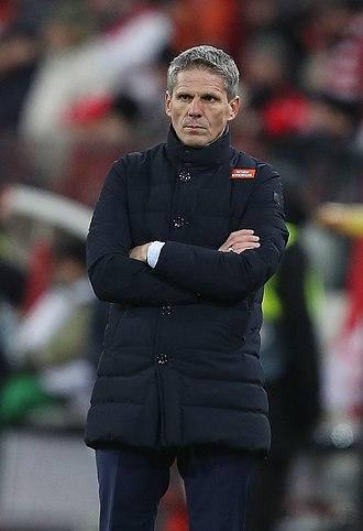 Dietmar Kühbauer - Kühbauer with SK Rapid Wien in 2018