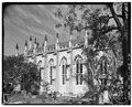 SOUTH SIDE, FROM SOUTHEAST - French Protestant Huguenot Church, 136 Church Street, Charleston, Charleston County, SC HABS SC,10-CHAR,71-4.tif
