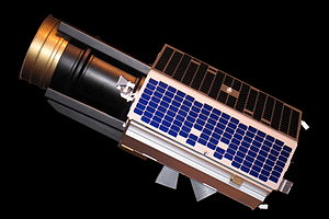 Surrey Satellite Technology - Model of a SSTL-300 satellite