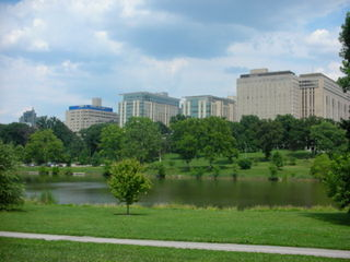 Neighborhood of St. Louis in Missouri, United States