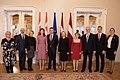 Saeimas priekšsēdētāja Ināra Mūrniece tiekas ar Dānijas kroņprinci un kroņprincesi (46202652091).jpg