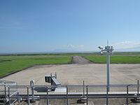 Saga Airport runway, taxiway and tarmac.JPG