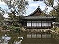 Saikan Hall and Pond of Sumiyoshi Grand Shrine 2.jpg