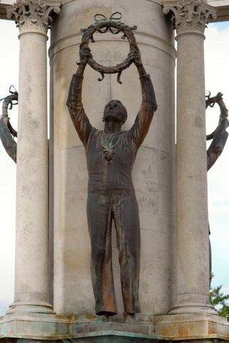 Welsh National War Memorial - Sailor (Navy)