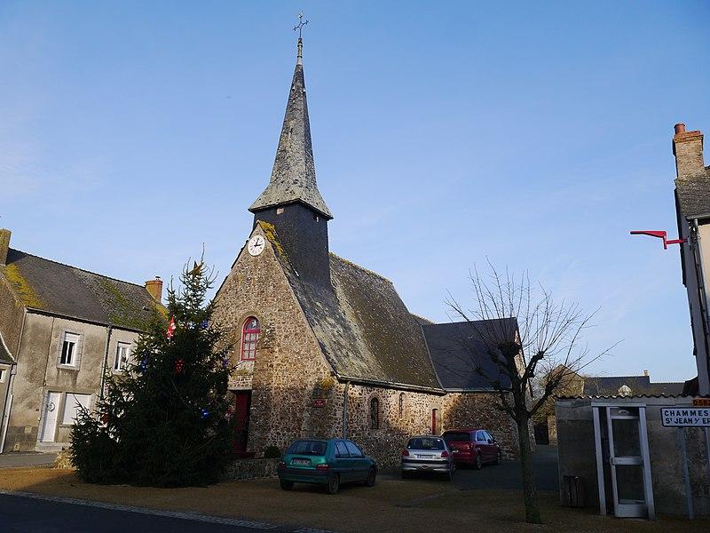 L'église Saint-Léger.