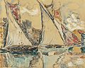 Saint-Tropez, Sailing Boats on the Shallow, 1901.jpg