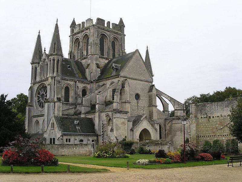 "Église abbatiale Saint-Yved de Braine, Aisne - Picardie (N49°20'46,04"" E3°31'59,52"")"