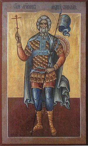 Saint Andrew Stratelates - St. Andrew Stratelates Orthodox icon
