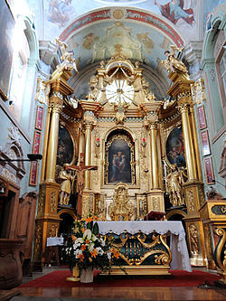 Saint Anne church in Lubartów - Interior - 06.jpg