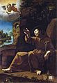 Saint Francis of Assisi Consoled by an Angel Musician.jpg