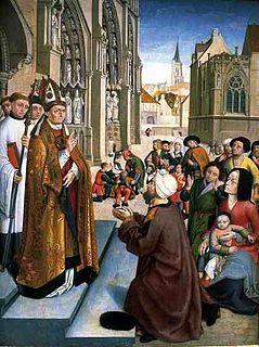 Genebald Frankish bishop and saint