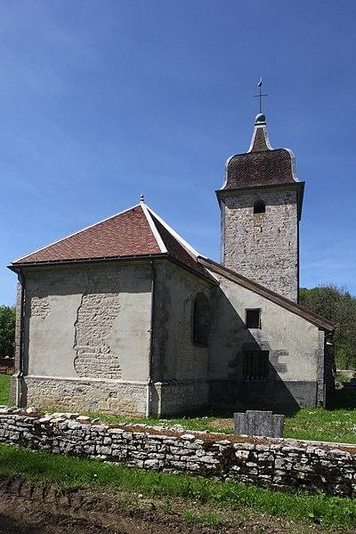 Eglise de Sainte-Anne (Doubs).