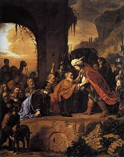 Salomon de Bray - Joseph Receives His Father and Brothers in Egypt - WGA3146