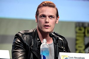 Sam Heughan - Heughan at the 2015 San Diego Comic-Con International to promote Outlander