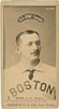 Sam Wise, Boston Beaneaters, baseball card portrait LCCN2007685648.tif