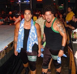 Afa Anoaʻi Jr. - Anoaʻi and Sonny Siaki as the Samoan Fight Club