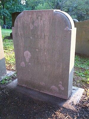 Samuel Gridley Howe - Grave of Samuel Gridley Howe in Mount Auburn Cemetery