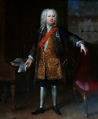 Portret Samuel von Cocceji