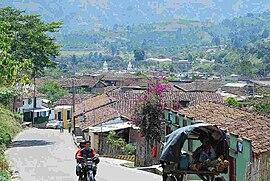 View of San Agustín