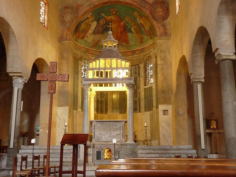 File:San Giorgio in Velabro - Roma - Interior1.JPG
