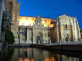 Basilica of San Isidoro, León - South facade of the Basilica