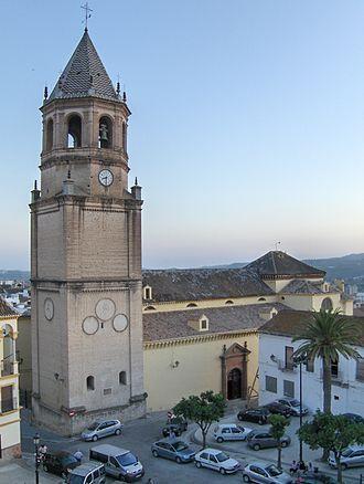 Vélez-Málaga - Church of St. John the Baptist.