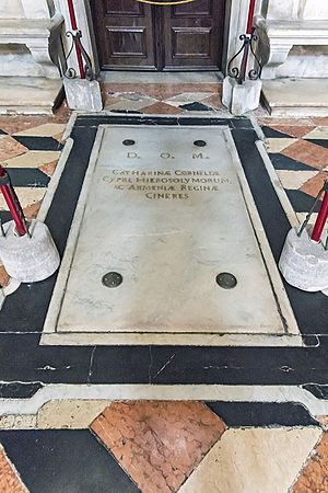 Catherine Cornaro - Image: San Salvador Interno Tomb of Caterina Cornaro