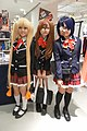 Sanae Dekomori, Shinka Nibutani & Rikka Takanashi from Love, Chunibyo & Other Delusions at the 2013 Cosplay Mart (10490800406).jpg