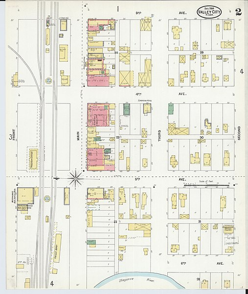 File:Sanborn Fire Insurance Map from Valley City, Barnes ...