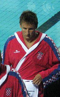 Sandro Sukno Croatian water polo player