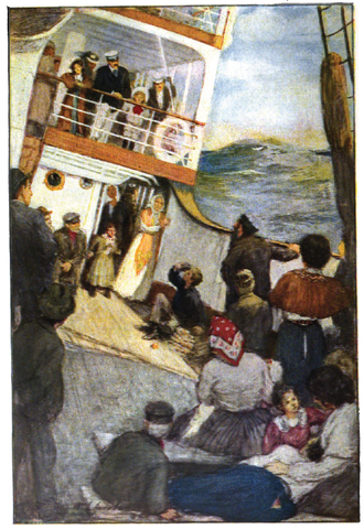 Sandy (novel) - Frontispiece illustration by W.L. Jacobs