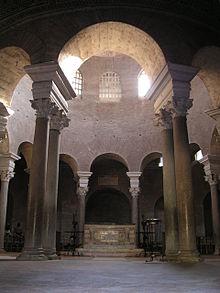Vista dell'interno