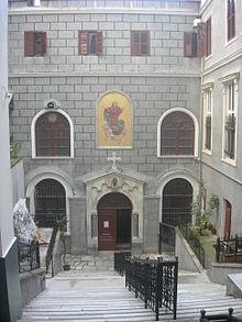 Church of St  Mary Draperis, Istanbul - Wikipedia