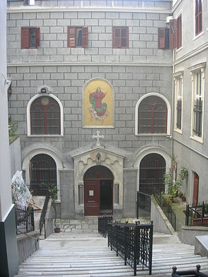 Church of St. Mary Draperis, Istanbul - Image: Santa Maria Draperis 02