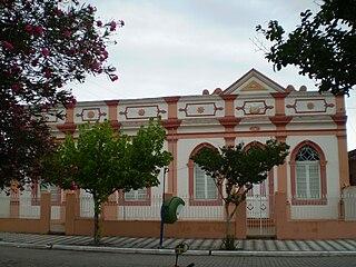 Santa Vitória do Palmar city in South, Brazil