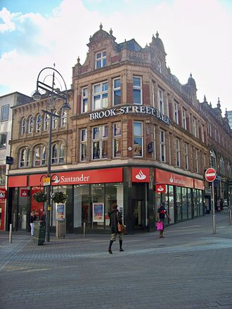 Santander UK - A branch of Santander on Briggate, Leeds