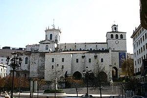 Santander Cathedral - Image: Santander.Conjunto.H istorico