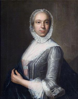 Jan Palthe (1717–1769) -  Sara Jacoba Lammers by Jan Palthe