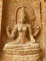 Saraswati at the Brihadeshwara temple, Gangaikondacholapuram, Tamil Nadu.jpg