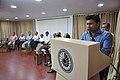 Satyajit Narayan Singh Anchoring - Ganga Singh Rautela Retirement Function - NCSM - Kolkata 2016-02-29 1319.JPG