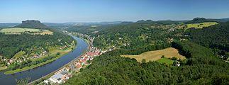 Saxon Switzerland - view from Festung Königstein.jpg