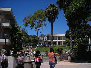 Santa Barbara City College - The campus at Santa Barbara City College