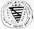 Sceau de Guillaume Larchevêque 1275 - 1.jpg