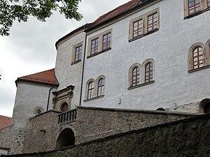 Equestrian staircase - Image: Schloss Klippenstein 8
