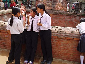 School girls in Bhaktapur.jpg