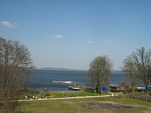 Schwielowsee - View of the lake from Ferch