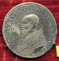 Scuola romana, medaglia di gregorio XIII, 1575, argento.JPG