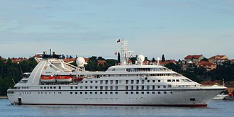 Star Breeze - Seabourn Spirit in Rovinj, Croatia.