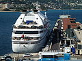 Seabourn Spirit in Monaco harbour.JPG