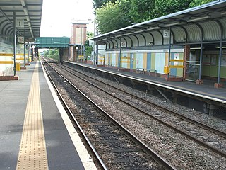 Seaburn Metro station Station of the Tyne and Wear Metro